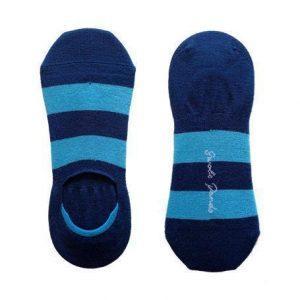 socks sky blue striped no show bamboo socks 1 600x