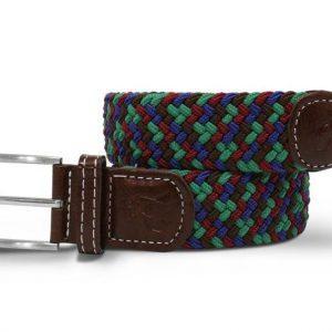 belt woven belt blue green zigzag 1 800x