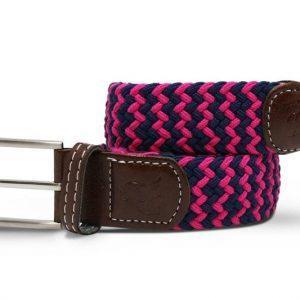 belt woven belt pink blue zigzag 1 800x