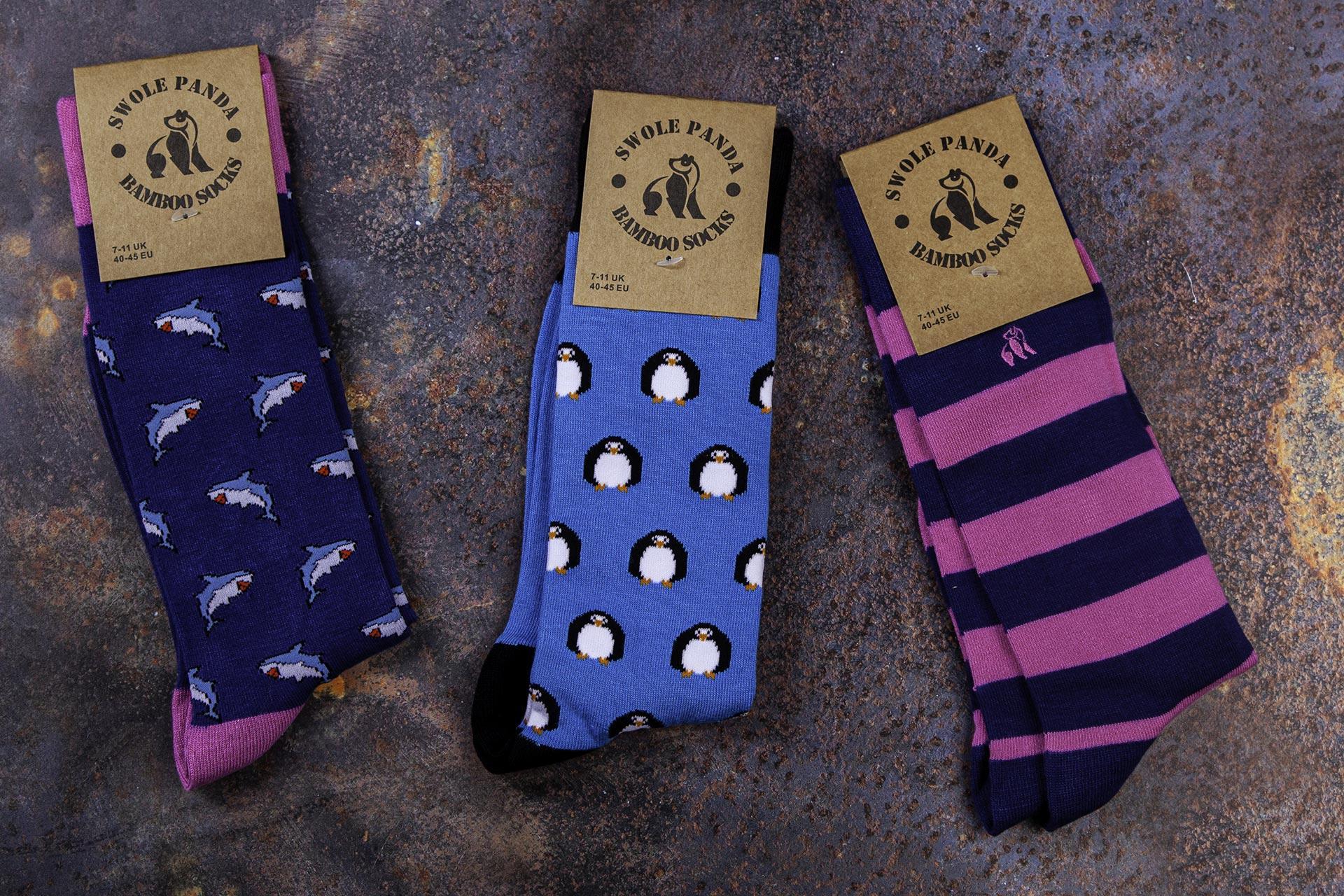 womens bamboo socks Natural Wear UK